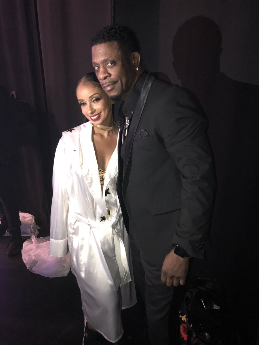Friday at the Foxwoods Theatre was nothing less than amazing! Pictured with the beautiful Mya!!!