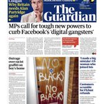 Image for the Tweet beginning: Facebook are 'digital gangsters' -Company must