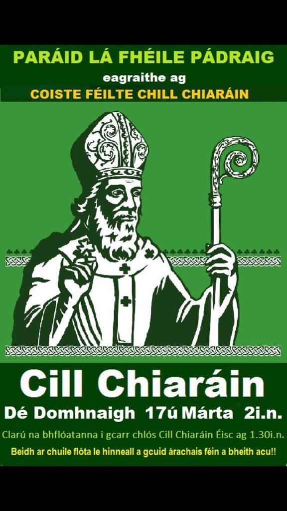Lá'l Páraic i gCill Chiaráin 2019 ☘️