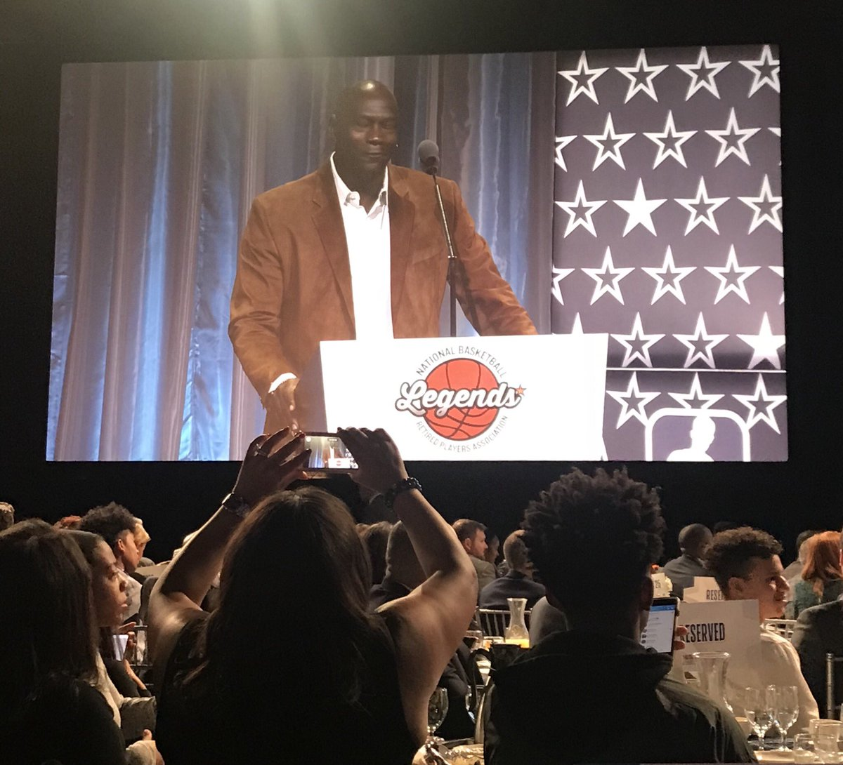 Happy 56th Birthday Michael Jordan who was honored on this special day at the 20th Annual @NBA All-Star Weekend Legends Brunch in Charlotte.
