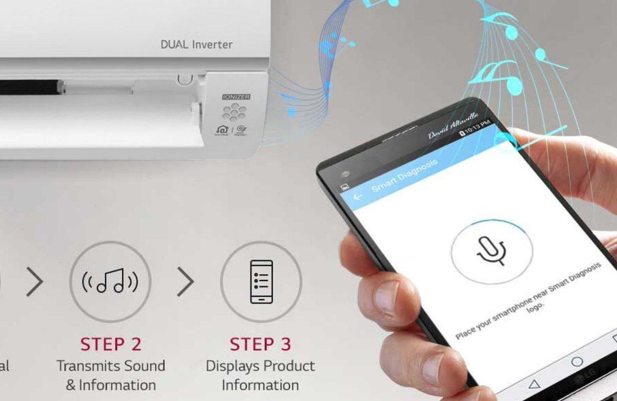 LG Smart Diagnosis Technology