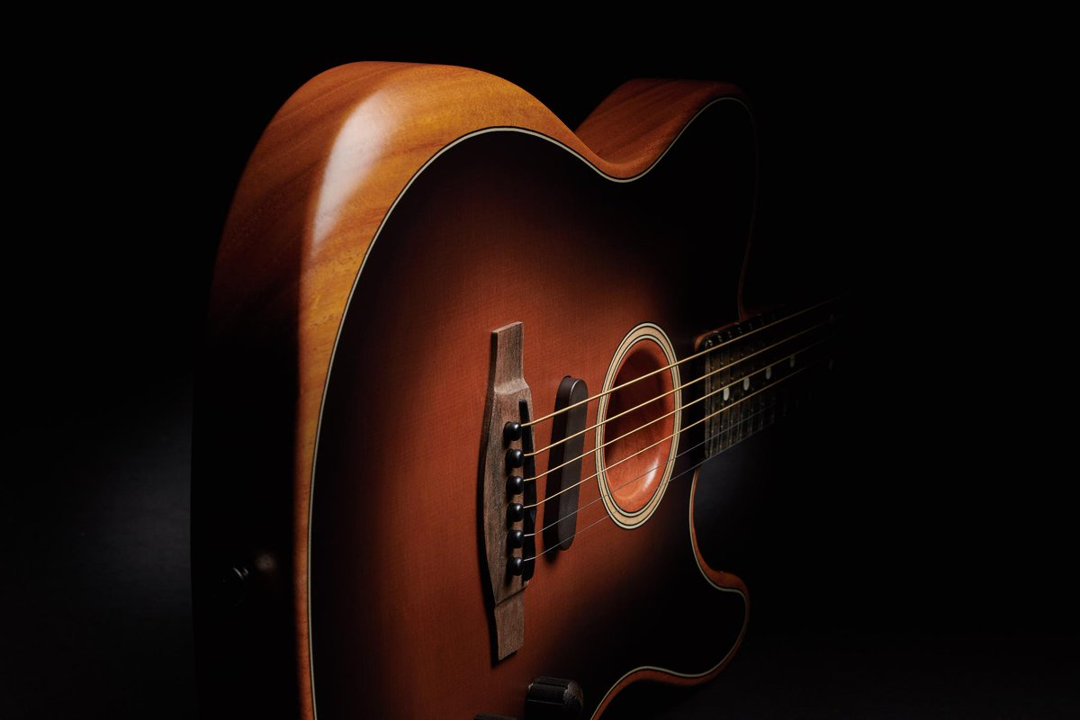 The new American Acoustasonic Telecaster is designed to deliver a naturally loud voice with spirited harmonics. Learn more about it here: http://bit.ly/2Gv4o7S