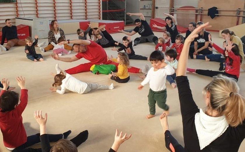 #PaysdAix : la baby-gym en plein boum ! https://t.co/pG7jVc0OCS