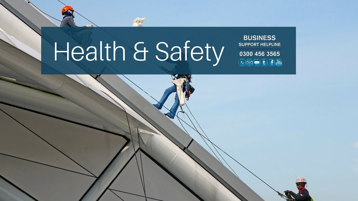 Running a business? You'll need to know what your responsibilities are when it comes to health and safety> https://t.co/UxvgIGKLzT  #BSHelpline