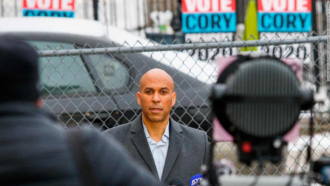 Sen. Cory Booker says he won't comment further on actor Jussie Smollett's case until more information comes out https://cnn.it/2SFcpxw