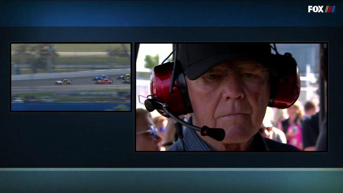 J.D. Gibbs - son of Joe Gibbs - was honored on lap 11 at the Daytona 500.