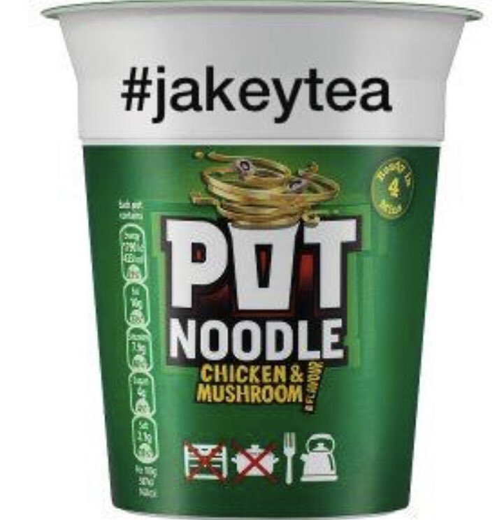 Aye right! @potnoodle say they will make a #jakeytea pot noodle if ah kin git 5,000 retweets. GIT RETWEETIN FOLKS.   The public DEMAND A JAKEYTEA POT NOODLE!🤩🤩🤩🤩🤩🤩🤩