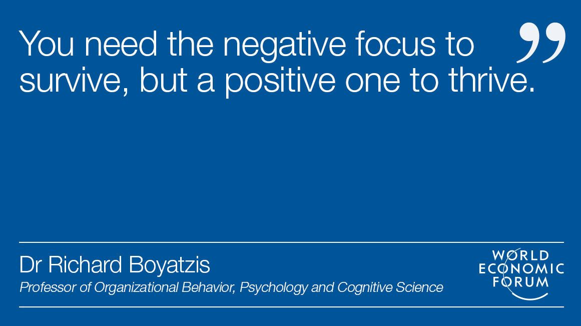 You are naturally biased to be negative. Here's how to change https://wef.ch/2DPrZum #positivity