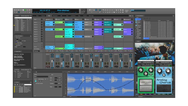 I just saw the interface for @motutech's Digital Performer 10 and I'm like, wait a minute! Is it me or #digitalperformer slowly became an #abletonlive clone overnight? Nah! Can't be just me. I'm sure some side-by-side comparison vid will come out on YouTube #DAW #musicproduction
