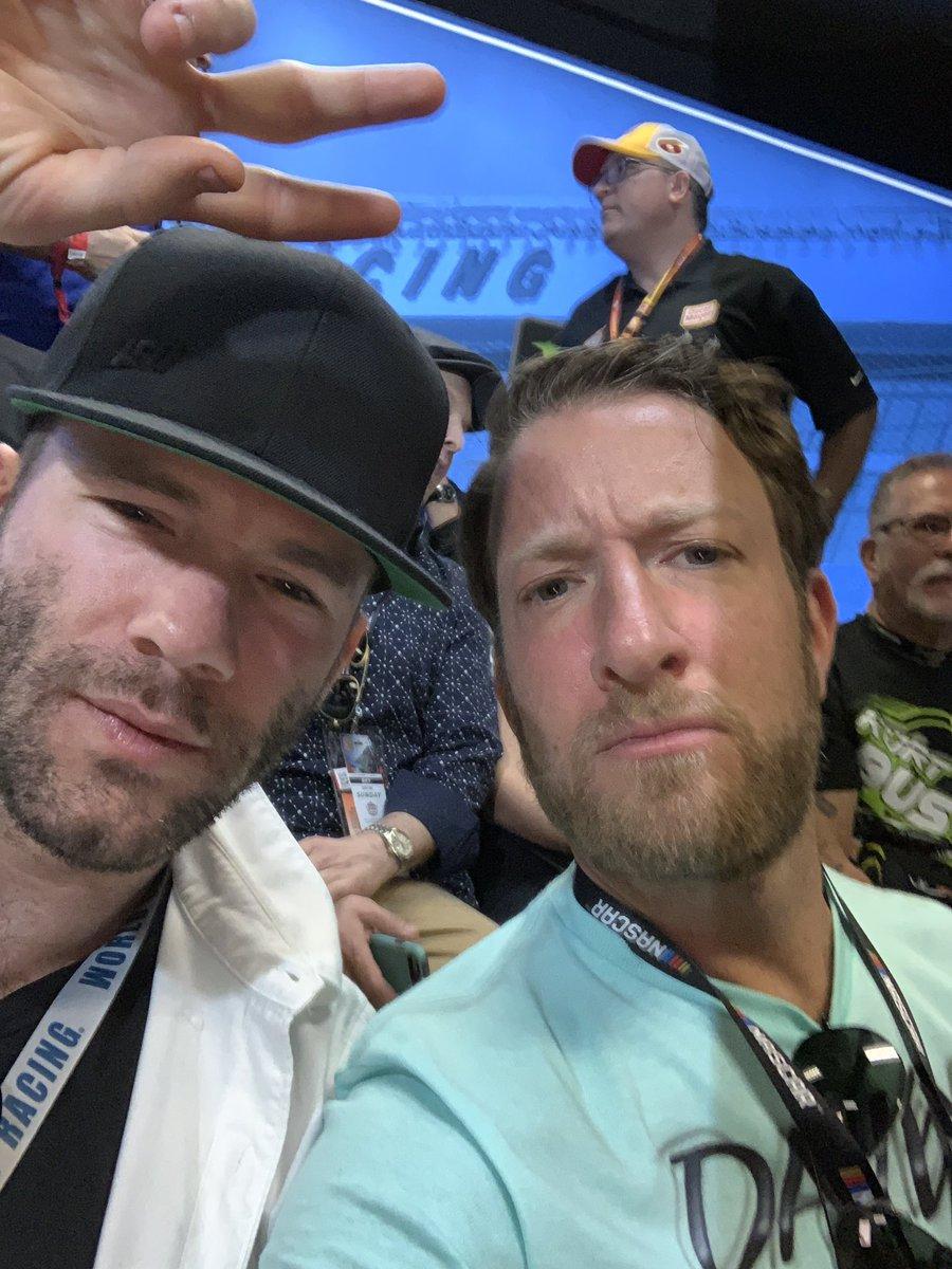 The Superbowl MVP And @Edelman11  #Daytona500