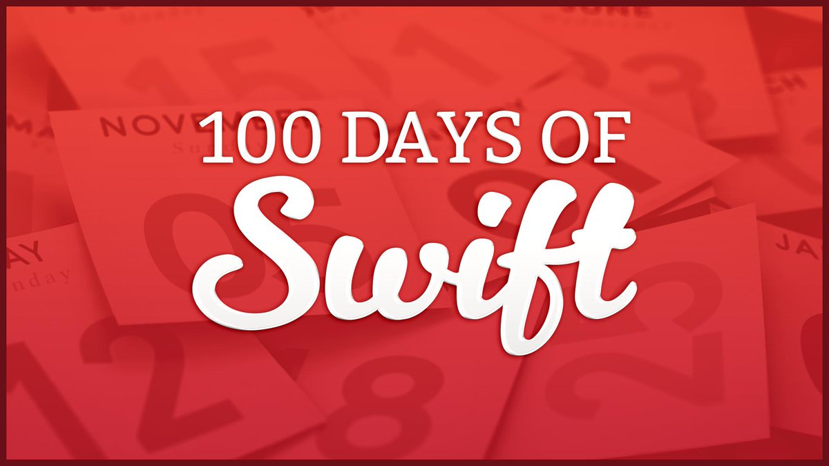 The 100 Days of Swift logo.