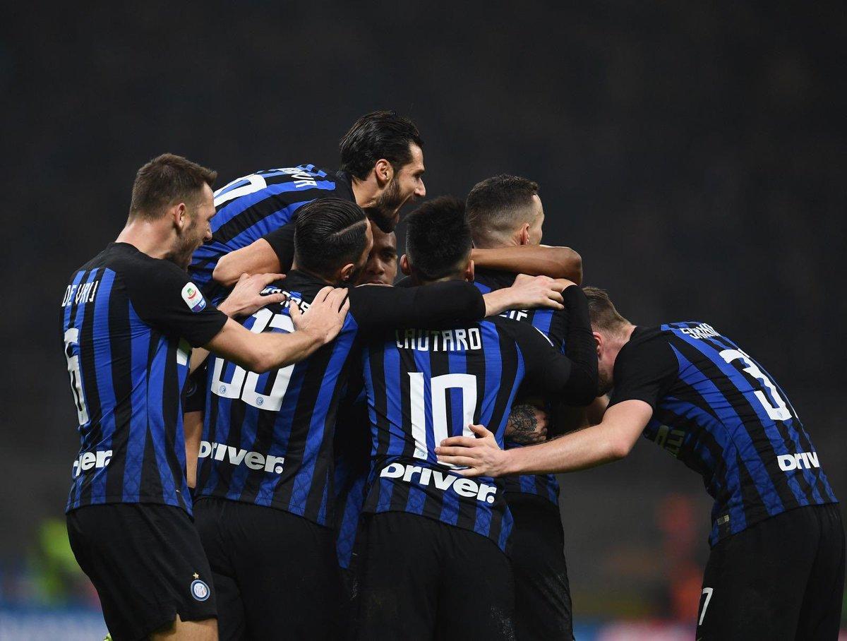 Bravi ragazzi, avanti cosí⚫️🔵 #INTERsampdoria #2-1