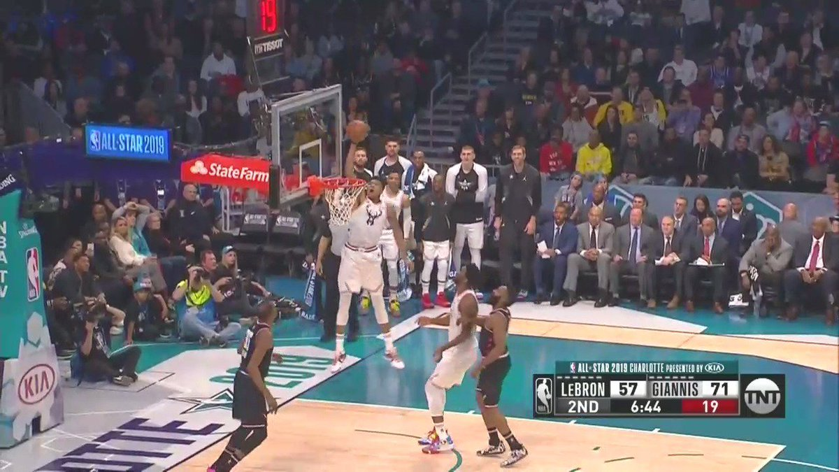 Giannis is not human.