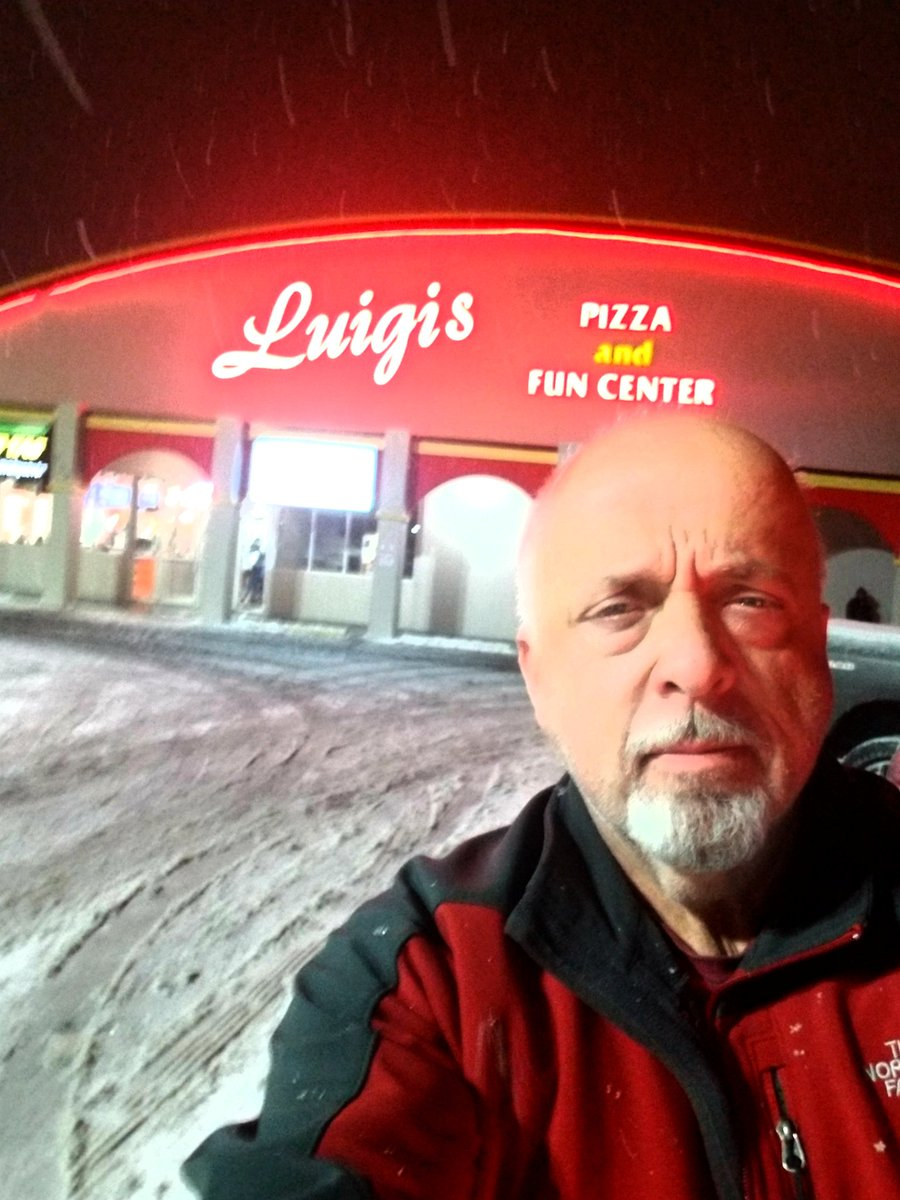 Stopped to grab a pizza from Luigi's in Aurora. They closed down to the public to provide staging, free food, and shelter Friday night to first responders and plant workers. They join me tomorrow at 720  More proof that in the worst times the best people step up.   #AuroraStrong