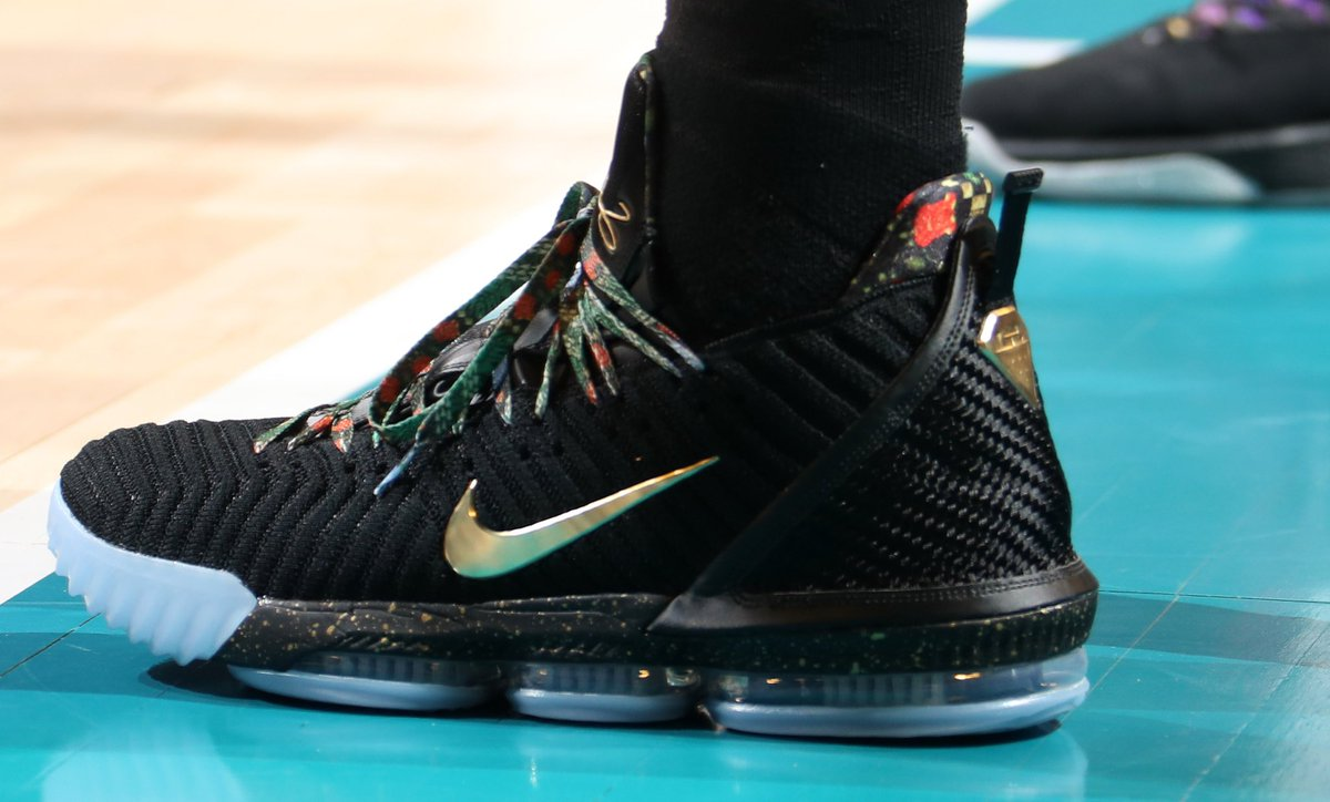 36918f1a41c kingjames wearing the watch the throne nike lebron 16 did you get a pair  natlyphoto