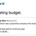Image for the Tweet beginning: If #Bitcoin had been a