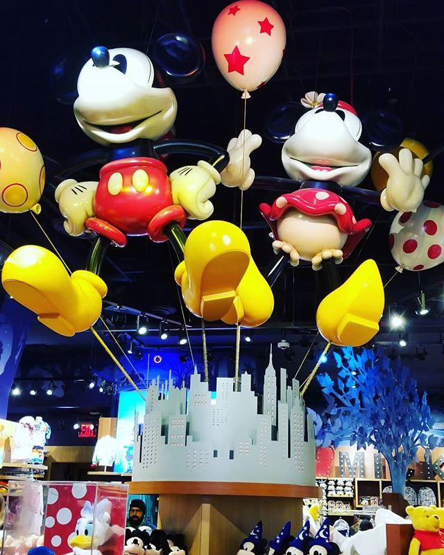 Hello from the Times Square Disney Store. Had to stop by again!  #disneystore #shopdisney #timessquare #disney #chipandco https://www.instagram.com/p/BuAaB7YFM1z/