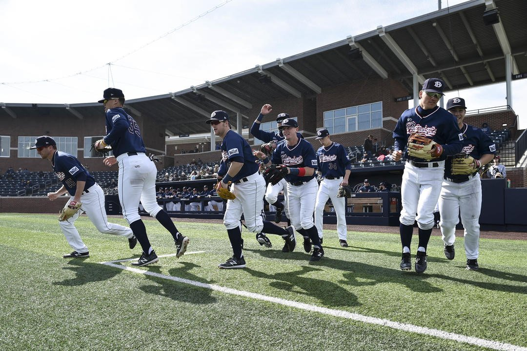 Highlights from DBU's sweep of Kent St. on Sunday at Horner Ballpark!