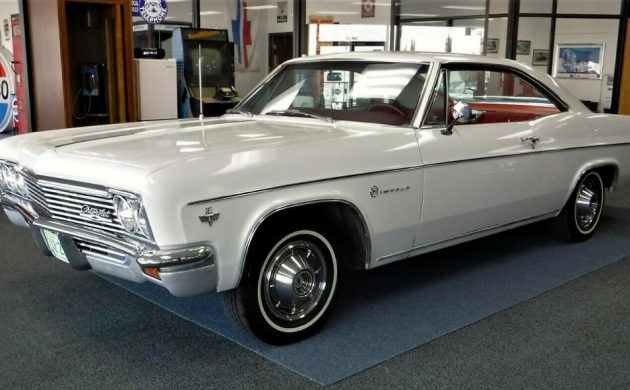 Unrestored Survivor: 1966 #Chevrolet #Impala  https://barnfinds.com/?p=265160