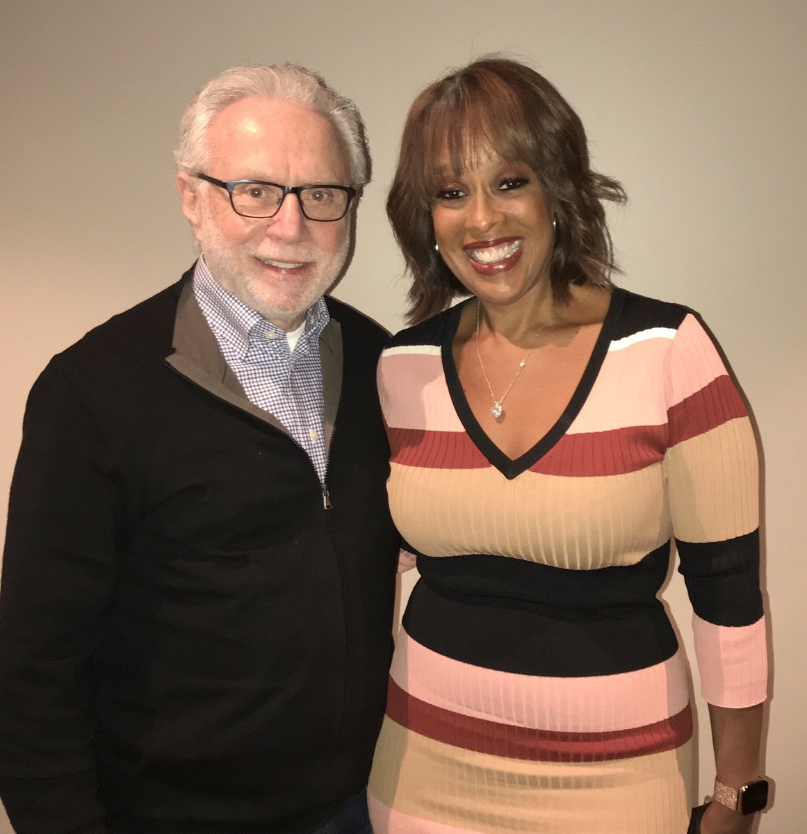 It's always great reconnecting with @GayleKing at the @NBAAllStar weekend.