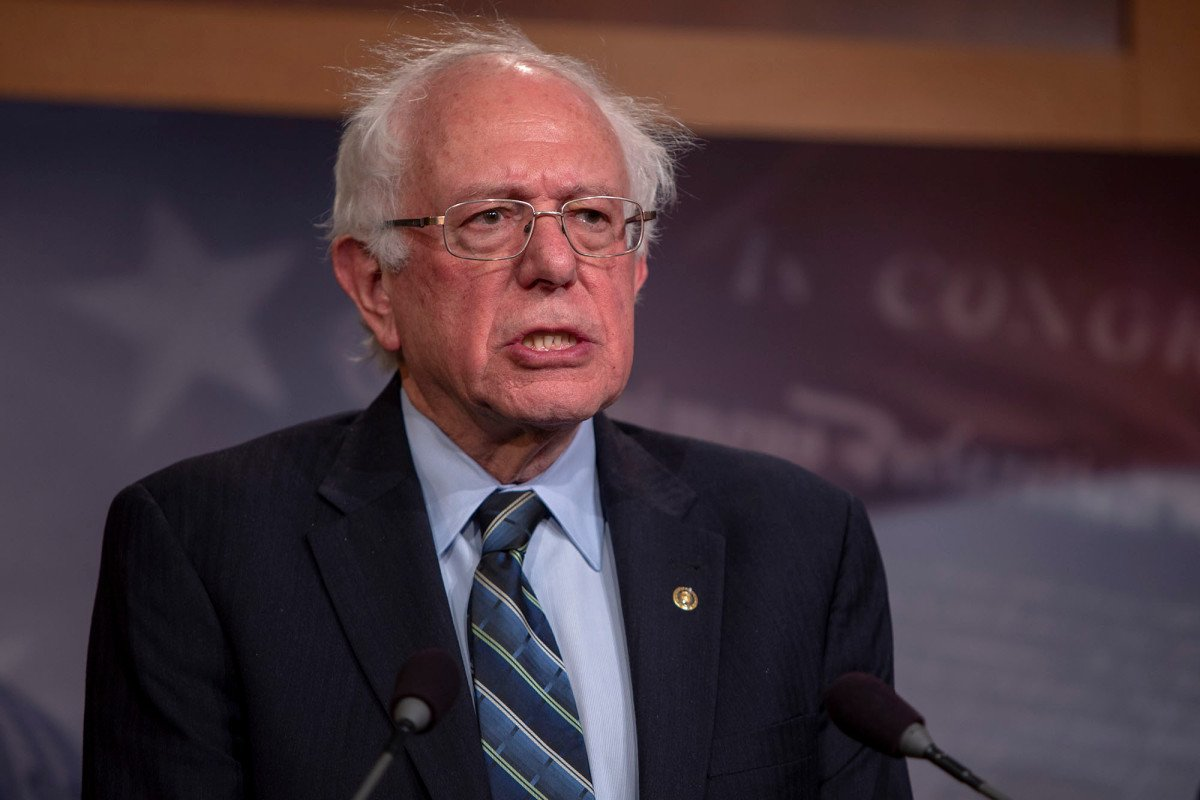 Bernie Sanders might launch presidential bid at Brooklyn College https://nyp.st/2SJxlDy