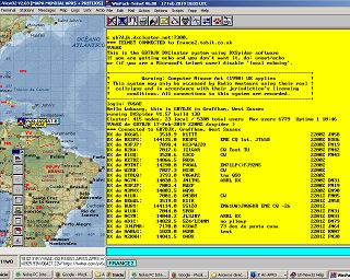 Radio Chatter! 📻 #yv6ae // Active #APRS http://map findu