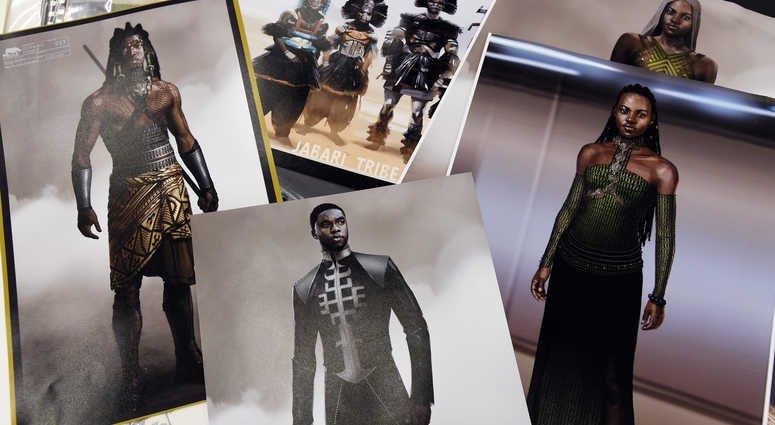 'Black Panther' costume designer blazes trail to inspire https://t.co/MCBrf5UUF1