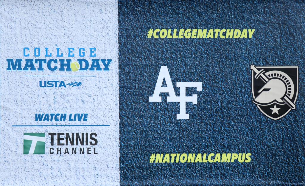 Tune-in to @TennisChannel now for an encore presentation of #CollegeMatchday from the USTA #NationalCampus between Air Force and Army!