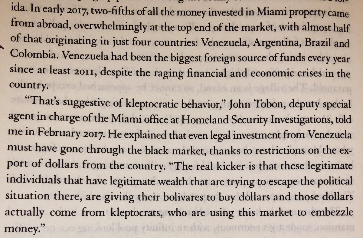 Since 2011, Venezuela's been the biggest source of foreign funds in Miami real estate: