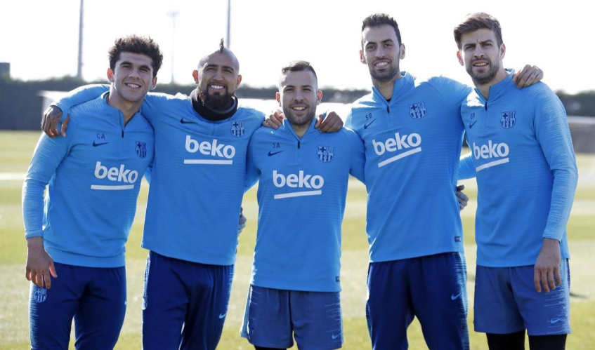 💪 Brothers in arms 🔵🔴 #ForçaBarça