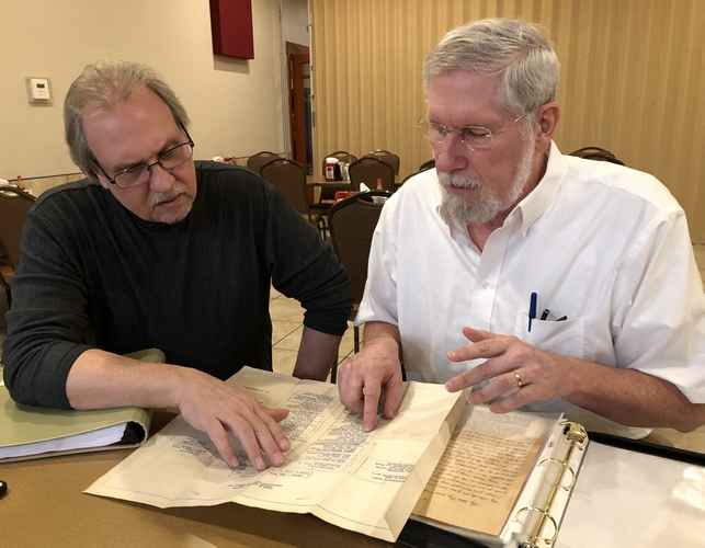 During a recent visit to #ReadingPA, a grateful son was reunited with letters between his late father and former German POWs he supervised at Reading Army Airfield during World War II. He plans to donate the collection to the @BerksHistory Center.  https://t.co/Dkk1QZOBVZ
