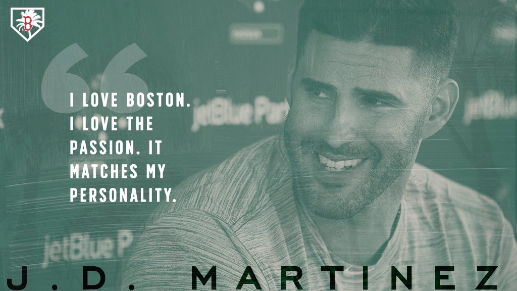And Boston loves J.D.   #SoxSpring