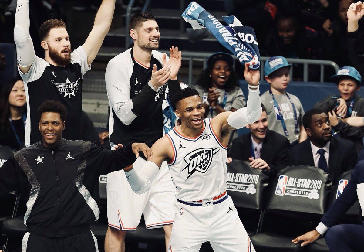 Who's ready to cheer some more? 2nd half coming up on @NBAonTNT   #NBAAllStar