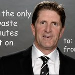 Image for the Tweet beginning: Ron Hainsey, a Mike Babcock