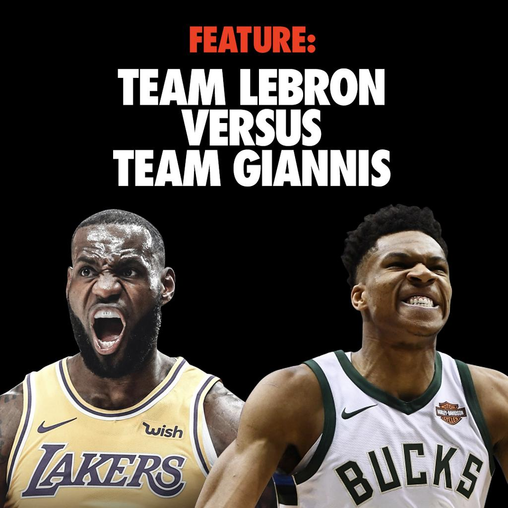 47f9bb0c44c team giannis versus team lebron but which team packs the most sneaker heat  is it team