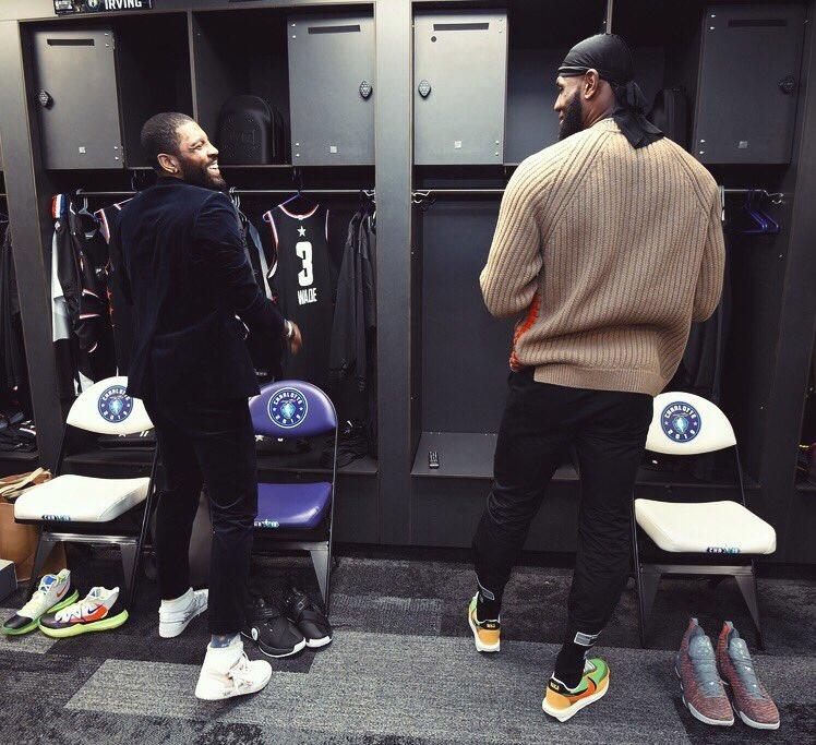 Reunited!   #NBAAllStar