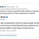 Image for the Tweet beginning: Elon Musk Confirms #Exit From