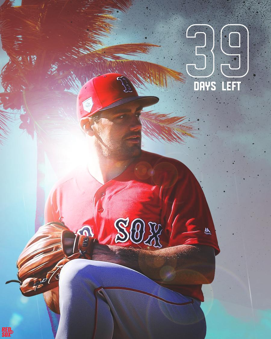 My brother, Kellan Reck captured one of the most beautiful shots of #NathanEovaldi I have ever seen. It was just begging to be used for today&#39;s #OpeningDay #countdown image. 39 days away, #RedSoxNation!  @kellanreck @RedSoxLA #evo #soxspring #domoredamage<br>http://pic.twitter.com/efix6RjpSD