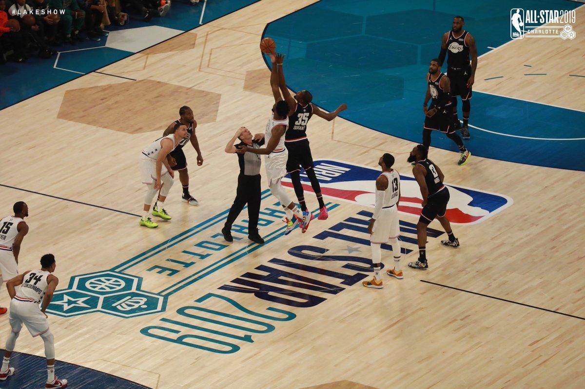 Comenzó la acción en Charlotte #NBAAllStar