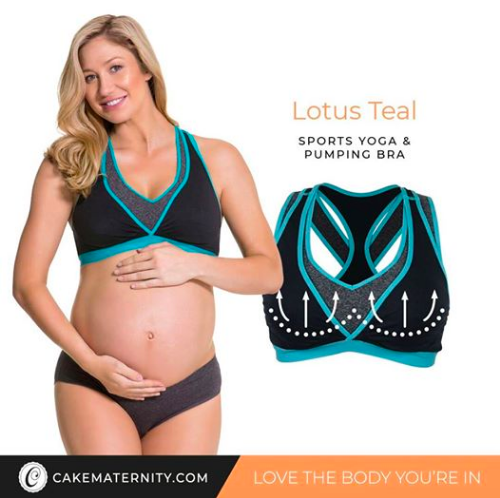 61968c7a8 Lotus hands free pumping bra. Also ideal for  - sleep - yoga - low