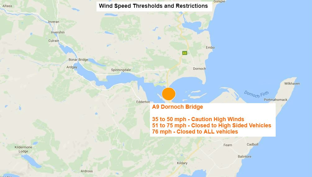 test Twitter Media - *NEW* 07:32⌚  High winds on the #A9 Dornoch Bridge. All vehilces can cross but please #TakeCare ❤  @NWTrunkRoads @HighlandCouncil https://t.co/qtwbPjeM50