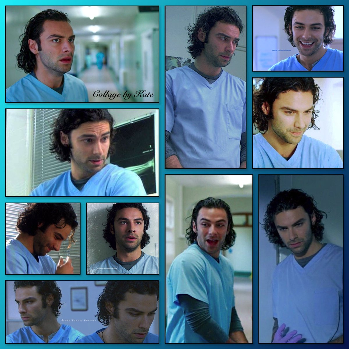I can not decide, so you get two for one #AidanCrew  Happy #MitchellMonday everyone! There has never been a more handsome hospital cleaner than Mitchell! #BeingHumanUK #AidanTurner<br>http://pic.twitter.com/MZd6lyUTvG