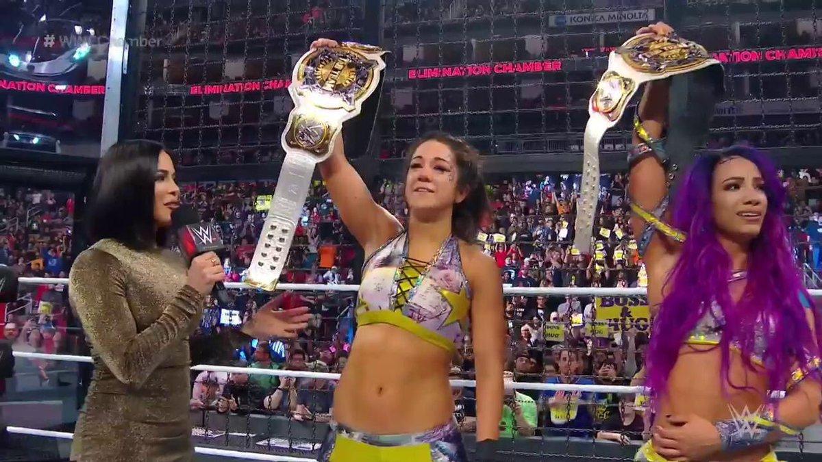 Christina Bell's photo on WrestleMania