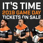 IT'S TIME! 🙌  2019 Tickets are on sale now — get yours and help us defend #OurJungle! 🐯  📲 Visit ≫ https://t.co/Jo1ZN3awBC