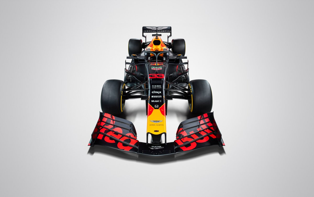 Introducing #RB15 onto track wearing…