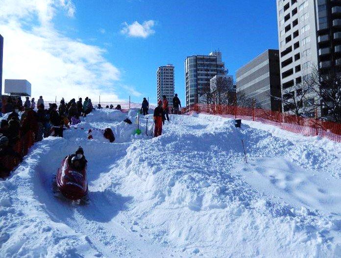 【大通公園ウィンタースポーツフェスティバル2019】 2/24(日)の10~15時、大通公園7、8丁目で雪まつりの雪を再利用したイベント開催!ボブスレーやバイアスロン、歩くスキーなどオリンピックで人気の競技体験をはじめ、様々な雪あそびが楽しめます♪ http://www.city.sapporo.jp/sports/event/wintersportsfestival/index.html…