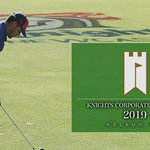 What happens when the boys traded the footballs for golf clubs ⛳️   Full video: https://t.co/tgZ4E0qF7d  #GoHardGoKnights #NRL #20Knighteen