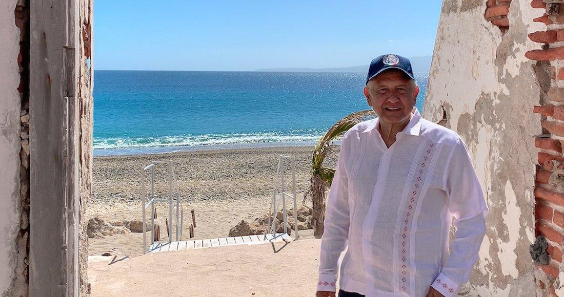 """A través de un mensaje publicado en su cuenta de Twitter, el Presidente AMLO dijo que visitó las Islas Marías """"con algunos miembros del Gabinete. Mañana informaré que, después de más de un siglo, dejará de ser prisión""""  https://t.co/W6npdWTmF0"""