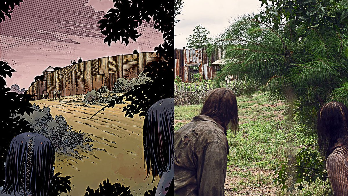 See ALL the ways this weeks #TheWalkingDead compared to the comics! http://bit.ly/910ComicShow
