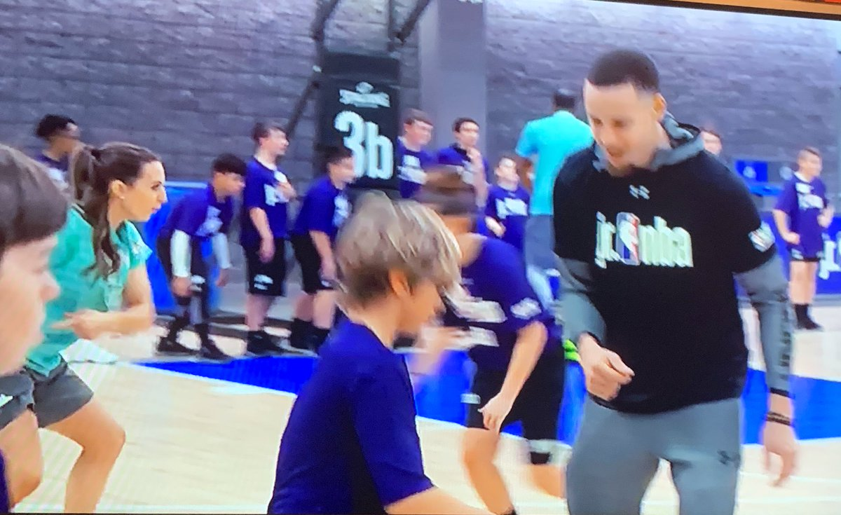 Hey @PhantomRadio60 , did you notice your new bestie @momoragan on the #NBACares commercial during the #NBAAllStarGame ? I did! Now, where's my T-shirt? #CongratsMoMo #WellDeserved #HardWorkPaysOff #DeuceAndMoPodcast